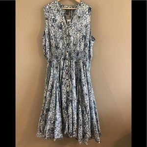 NWTChelsea and Theodore Blue dress